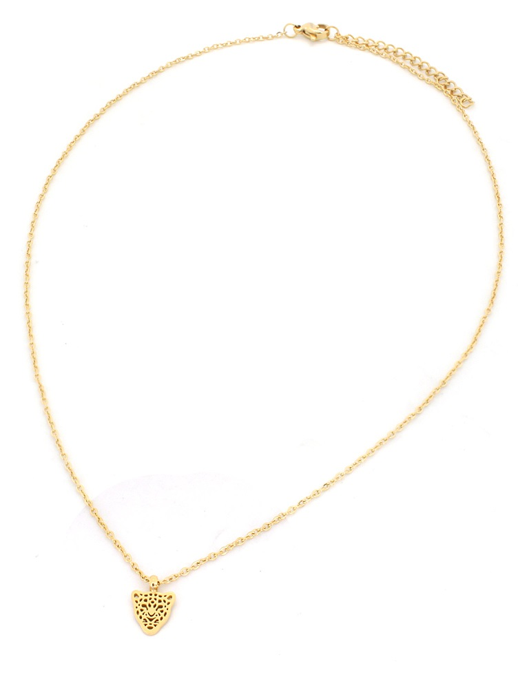 | Ketting Ster stainless steel goud