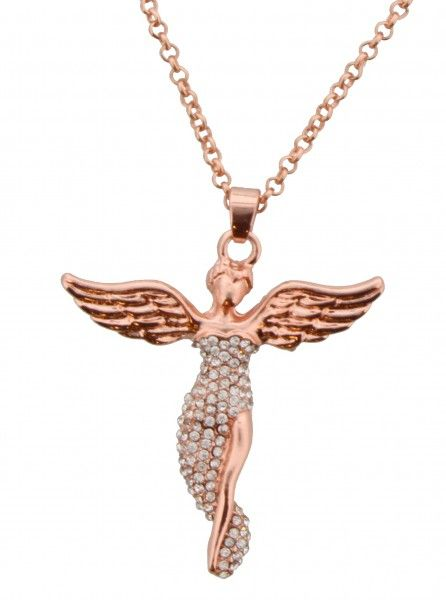 Ketting Angel rose-goud