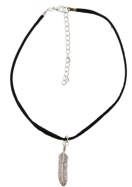 Ketting Ibiza feather choker
