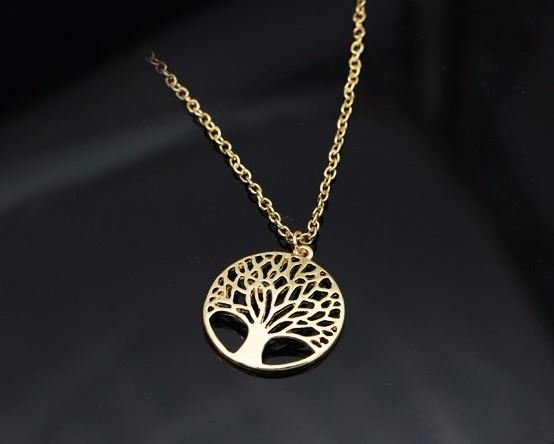 Ketting Tree of Life gold