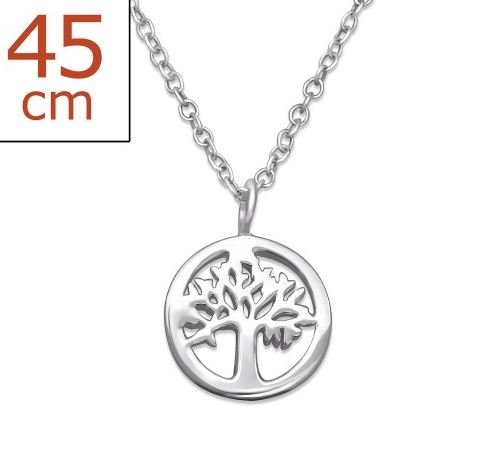 Ketting Tree of Life 925 zilver